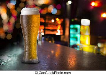 玻璃, 啤酒