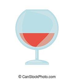 玻璃, 法國白蘭地酒, 飲料, 杯子