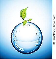 玻璃, 矢量, 球