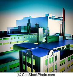 現代, 工廠