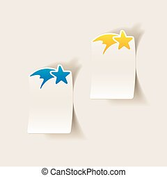 現實, element:, 設計, 聖誕節, 星
