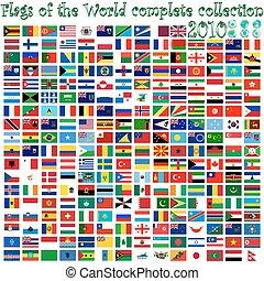 球体, 世界, 旗, 地球