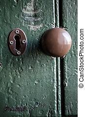 球形門柄, 門