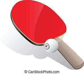 球, 乒乓球, 槳