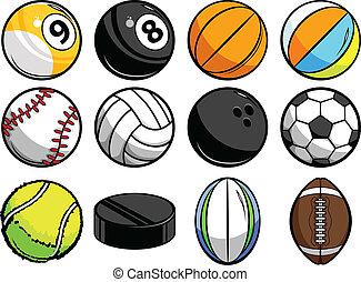 球, 運動, 彙整, 矢量