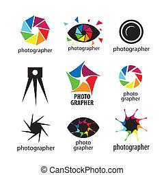 理念, 矢量, 相片, 彙整, 攝影師