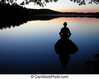 瑜伽, 湖