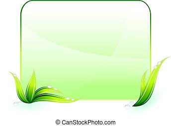 環境保護, 綠色的背景