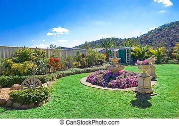 環境美化, 花園