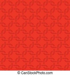 環繞, pattern., seamless, 中立, 正方形, 織法