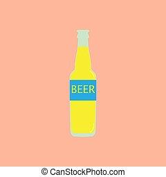 瓶子, 圖象, 啤酒
