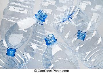 瓶子, 垃圾, 塑料