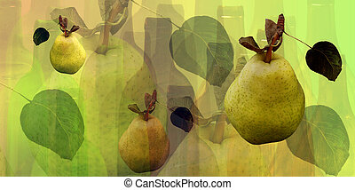 瓶子, 梨