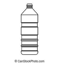瓶子, 矢量