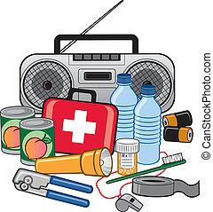生存, 准備, 緊急事件, 成套用具