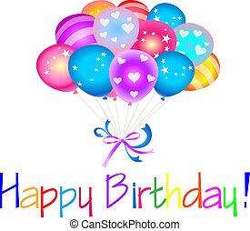 生日快樂, 气球