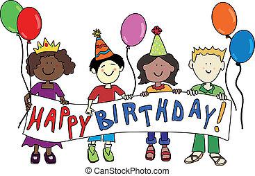 生日, 多文化, 孩子