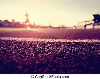 生活方式, 健康, 概念, 慢慢走, 運動, 人