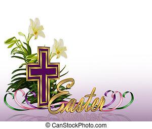 產生雜種, 復活節, 花卉疆界