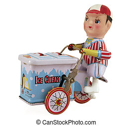男孩, 冰淇淋
