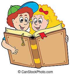 男孩, 學校書, 女孩讀物