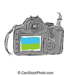 略述, 照像機, 設計, 你