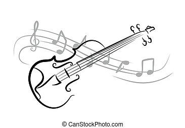 略述, violin.