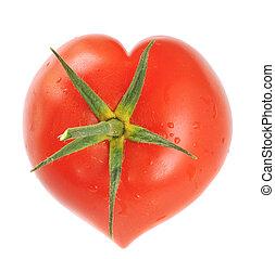 番茄, 心成形