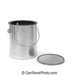 畫罐, 被開放能夠, 銀