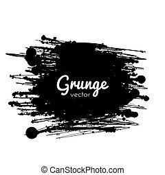 畫, grunge, splat