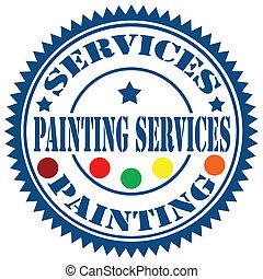 畫, services-stamp