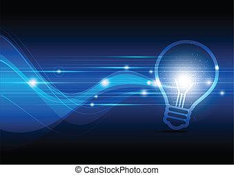 發火花, 燈, 電