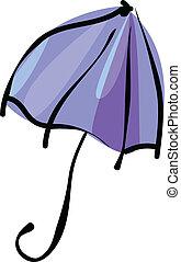 白色的傘, 被隔离