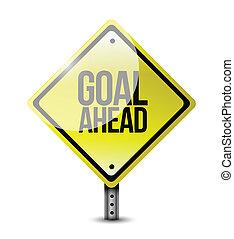 目標, 在前, 插圖, 簽署, 設計, 路
