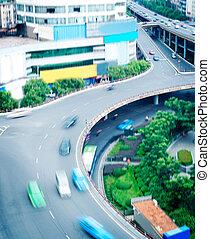相互交換, 上海, 空中, 堆, 看法