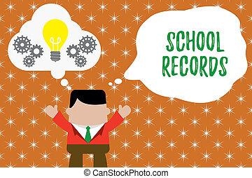 相片, 孩子, 一起。, 傳記, 資訊, records., 工作, 寫, 筆記, 氣泡, 事務, 顯示, 學校, 手, 燈泡, 虛構, 人, 大約, kept, 光, 向上, showcasing