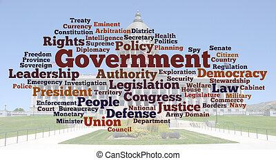 相片, 詞, 雲, 政府