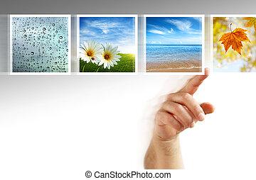 相片, touchscreen