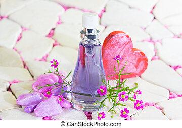 相當, 瓶子, 香水