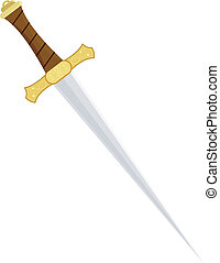 矢量, 匕首, 插圖