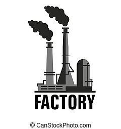 矢量, 工廠, 圖象