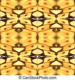 矢量, 插圖, 黃色, mot