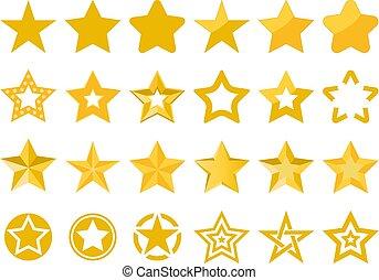 矢量, 星, 彙整
