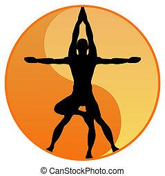 矢量, 瑜伽, 平衡