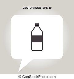 矢量, 瓶子, 圖象
