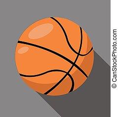 矢量, 籃球, 插圖