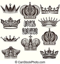 矢量, des, 彙整, 王冠