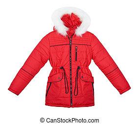 短上衣, 白色紅, 背景