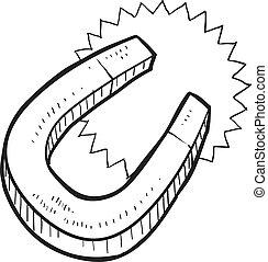 磁鐵, 略述, 馬蹄鐵