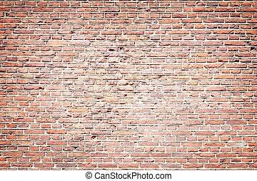 磚牆, 背景
